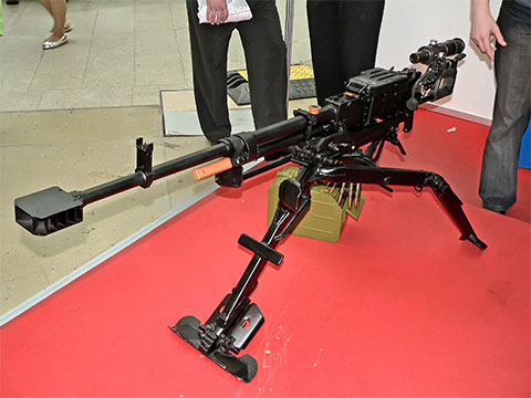 Пулемет КОРД на станке