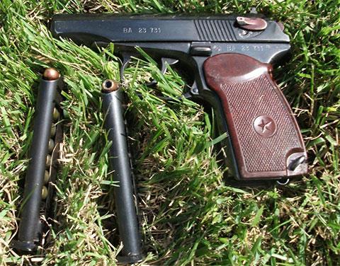 Боевой пистолет ПМ - фото
