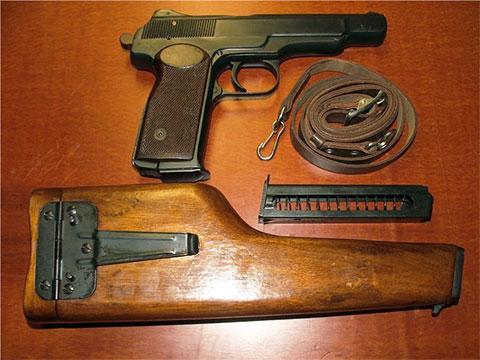 Пистолет Стечкина фото