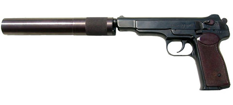 Автоматический пистолет Стечкина АПБ