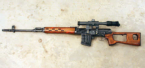 Снайперская винтовка Драгунова (СВД) фото