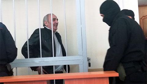 Тариел Ониани в Соль-Илецком суде, Оренбургская область, 09.04.2019