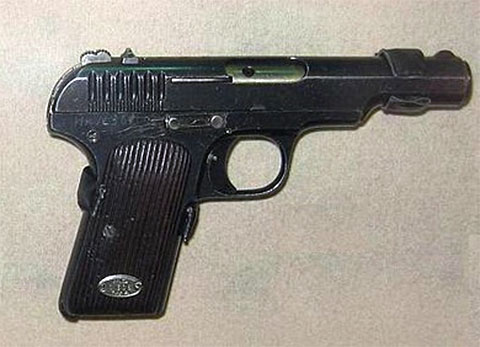 Пистолет ТТ 1929 года фото