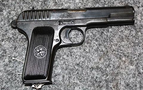 Пистолет ТТ 1935 года фото