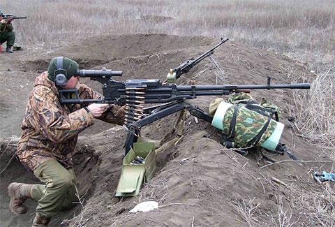 Пулемет НСВ «Утёс»