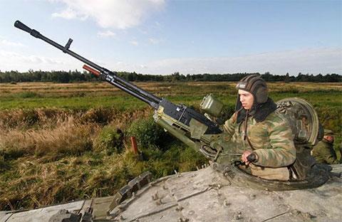 Пулемет НСВТ