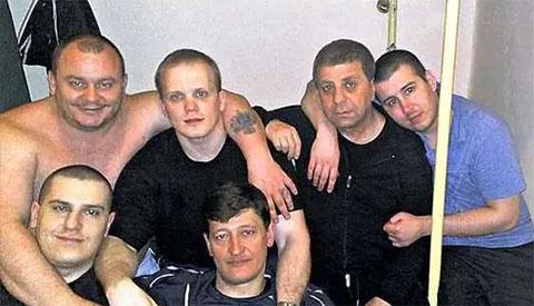 Второй слева: Владимир Владимирович Щегольков  Ариец