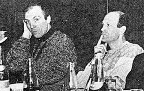 Слева: Николай Гавриленков