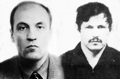 Слева: Николай Гавриленков и Владимир Кумарин