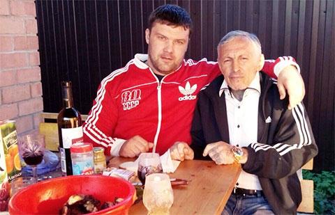 Слева воры в законе: Алексей Злакоманов (Леха Злак) и Александр Северов (Саша Север)