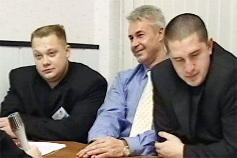 Справа: вор в законе Андрей Ткаченко - Ткач Няганьский