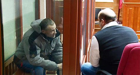 Дмитрий Баласов на суде