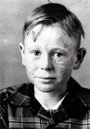Эд Гейн в детстве