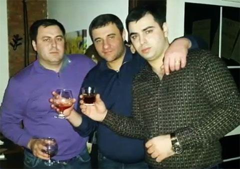 Слева: вор в законе Гурсель Сайфулов - Гурам Ташкентский