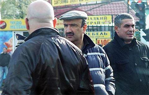 Криминальный авторитет Илгар Джабраилов - Данабаш, на похоронах вора Япончика