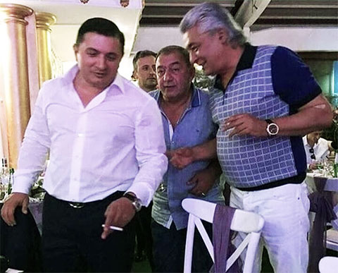 Слева воры в законе: Надир Салифов (Гули) и Мераб Пипия (Мераб Сухумский)