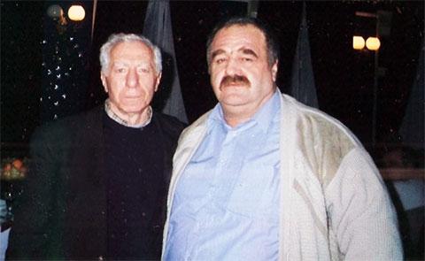 Слева воры в законе: Давид Пахуридзе (Минаго) и Элгуджа Кублашвили (Гижуа)