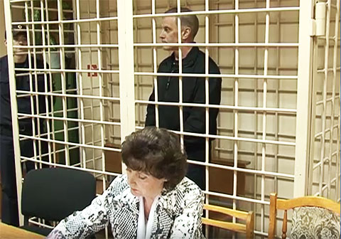 Николай Зайцев в суде