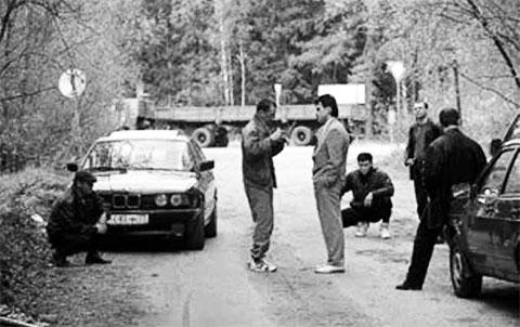 Бандиты на дороге