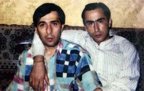Слева воры в законе: Мераб Джангвеладзе (Мераб Сухумский) и Паата Члаидзе (Паат Большой)