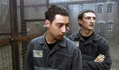 "Кадр из сериала ""Побег"""