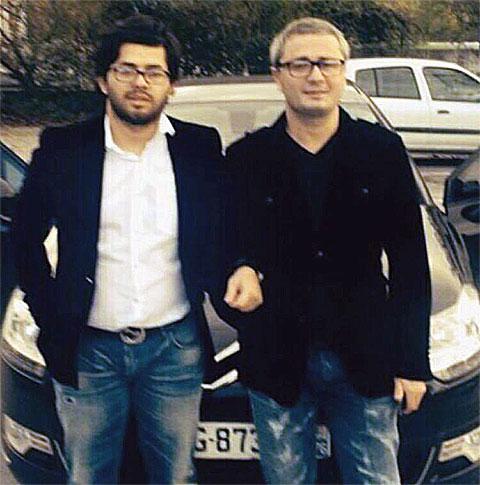 Слева воры в законе: Нодар Шукакидзе (Нодо Глданский) и Мамука Джаниашвили (Чичхина)