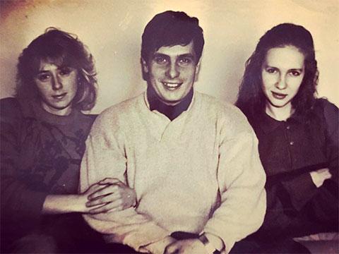 В центре: Александр Шишинин