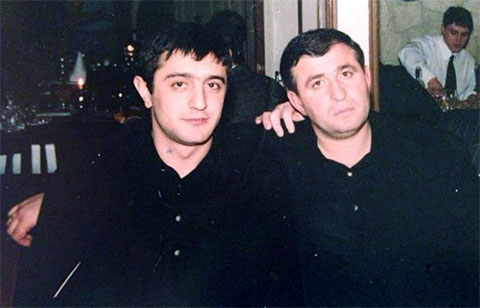 Слева воры в законе: Бахыш Алиев (Ваха) и Малхаз Миндадзе
