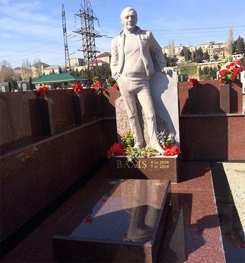 Могила Бахыша Алиева