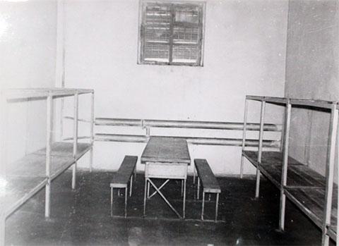 Камера в Минусинской тюрьме в Советские годы