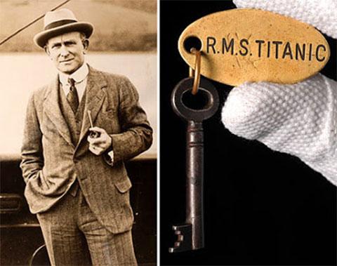 Дэвид Блэр и ключ от Титаника