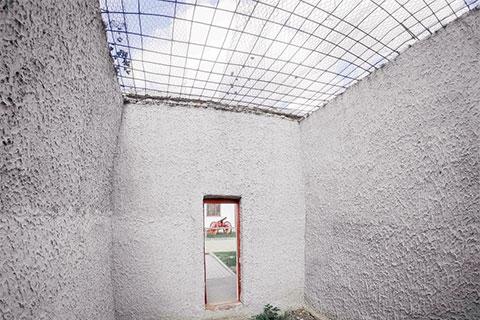 Прогулочный дворик Тобольской тюрьмы