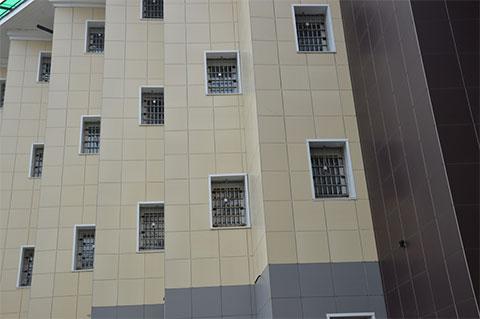Один из корпусов тюрьмы