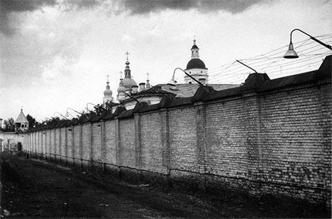 Стена Тоболського тюремного замка