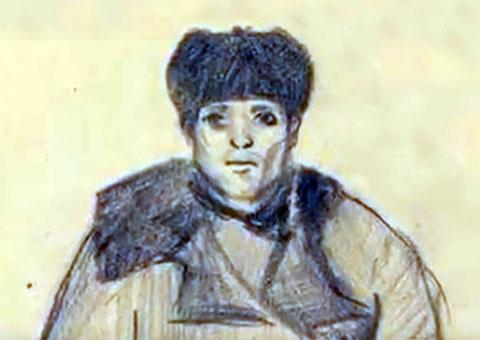 Портрет Филиппа Тюрина, составленный с описания свидетелей