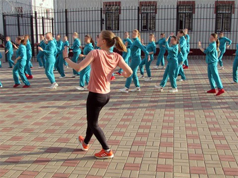 Новооскольская колония для несовершеннолетних девочек