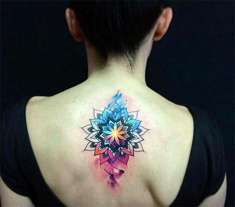 Акварельные тату - фото популярных татуировок для девушек