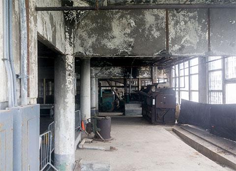 Помещение, где работали заключенные Алькатраса
