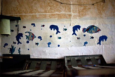 Самодельные украшения в камерах тюрьмы Ортачала