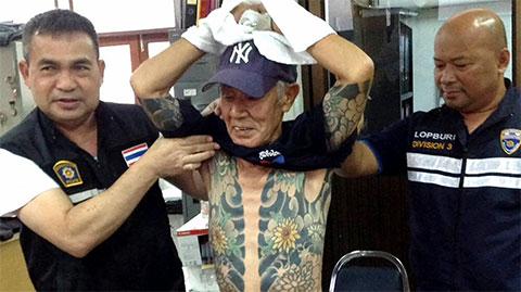 Арест одного из главарей Японской мафии