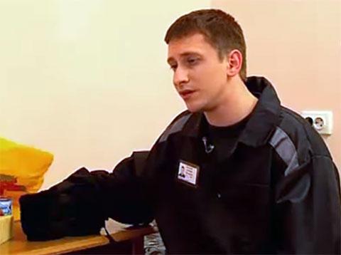 Алексей Выговский в тюрьме