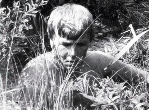 Фотография снятая в 1983  году при раскопках в Мясном Бору