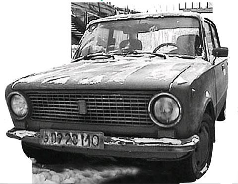 Автомобиль Александра Елистратова