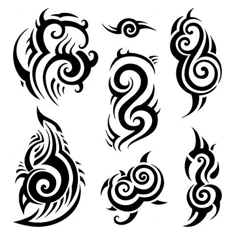 Эскизы для тату кельтские узоры на плечо