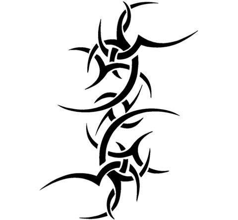 Эскиз кельтский узор для тату на плече