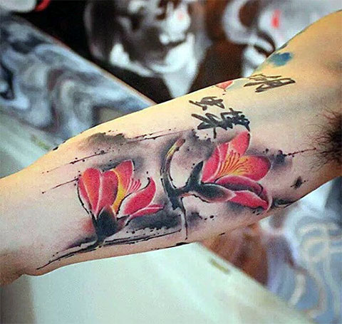 Китайские татуировки - фото