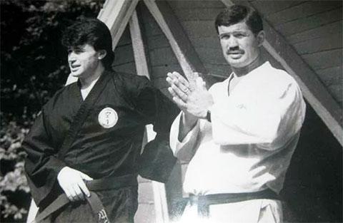 Слева: Алексей Штурмин и Тадеуш Касьянов