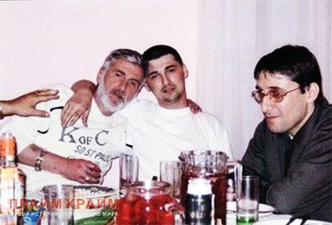Слева воры в законе: Валерий Силагадзе (Валера Сухумский), Ираклий Каличава (Ираклий Хуту) и Коба Ахвледиани (Коба Сухумский)