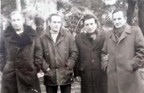Второй слева: вор в законе Константин Коберидзе - Кока