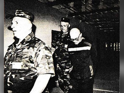 Василий Бабушкин (Вася Бриллиант) в тюрьме